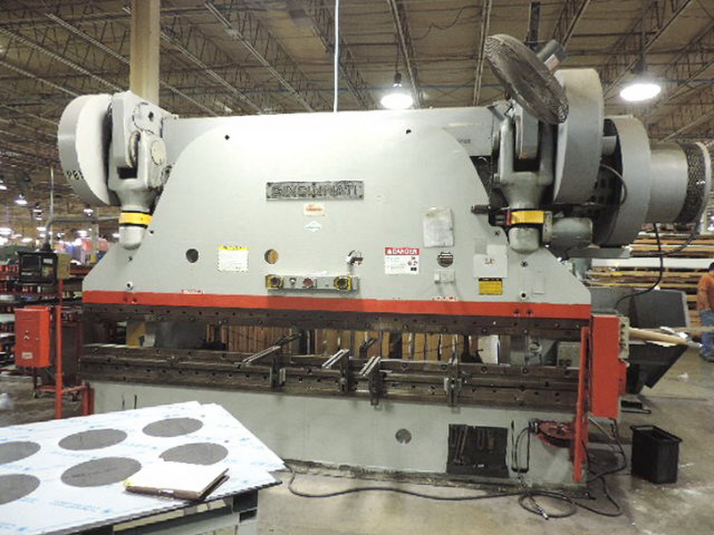 Used Mechanical Press Brake  Cincinnati 13-10