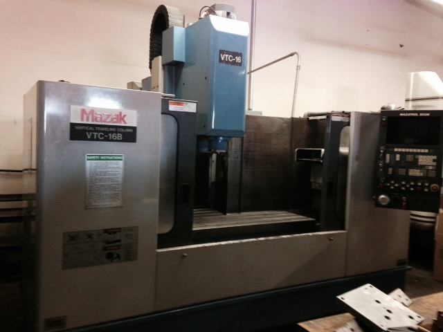 Used Vertical Machining Center Mazak VTC-16B 1995