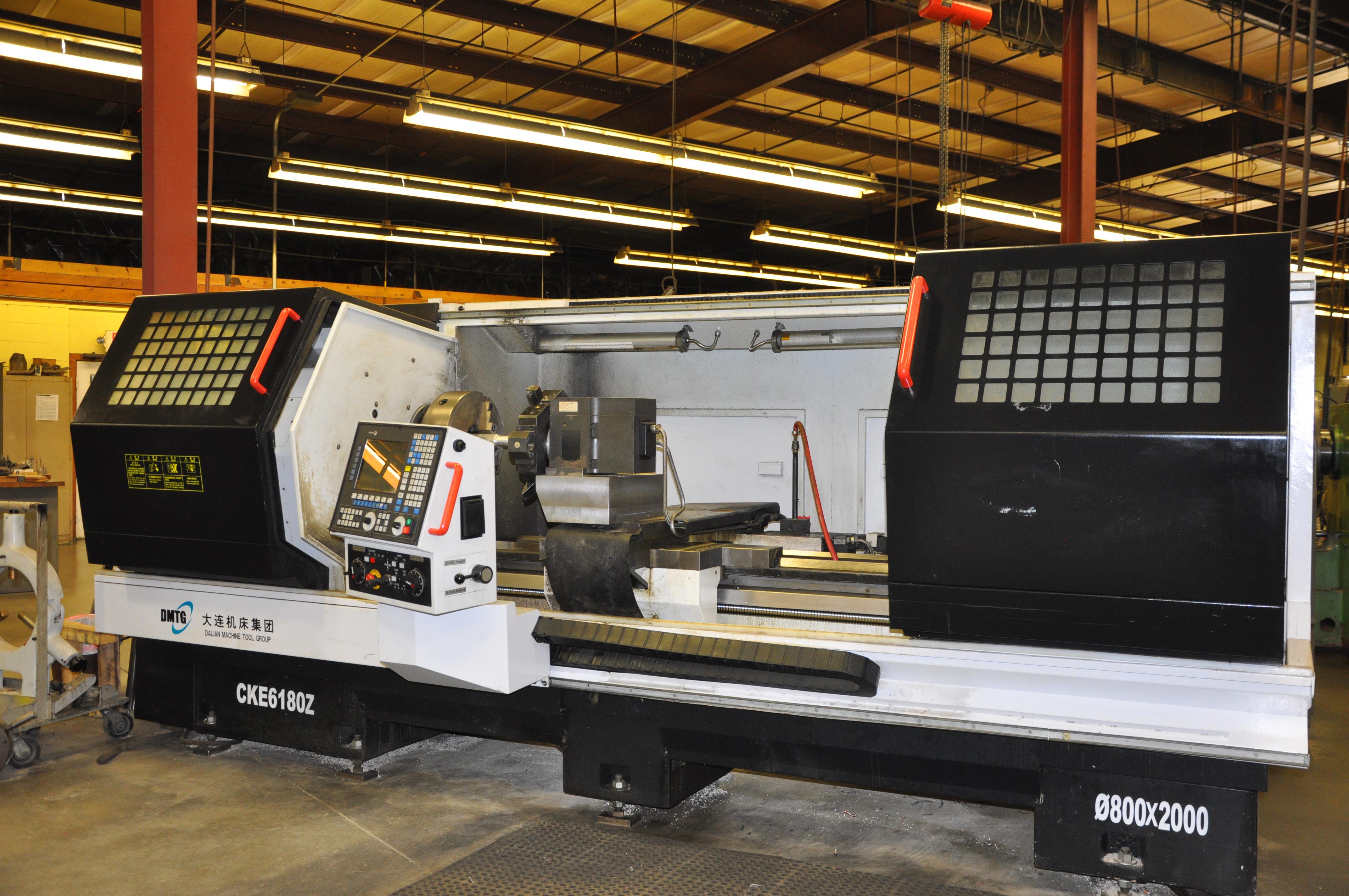 Used CNC Lathe DMTG 3260 2012