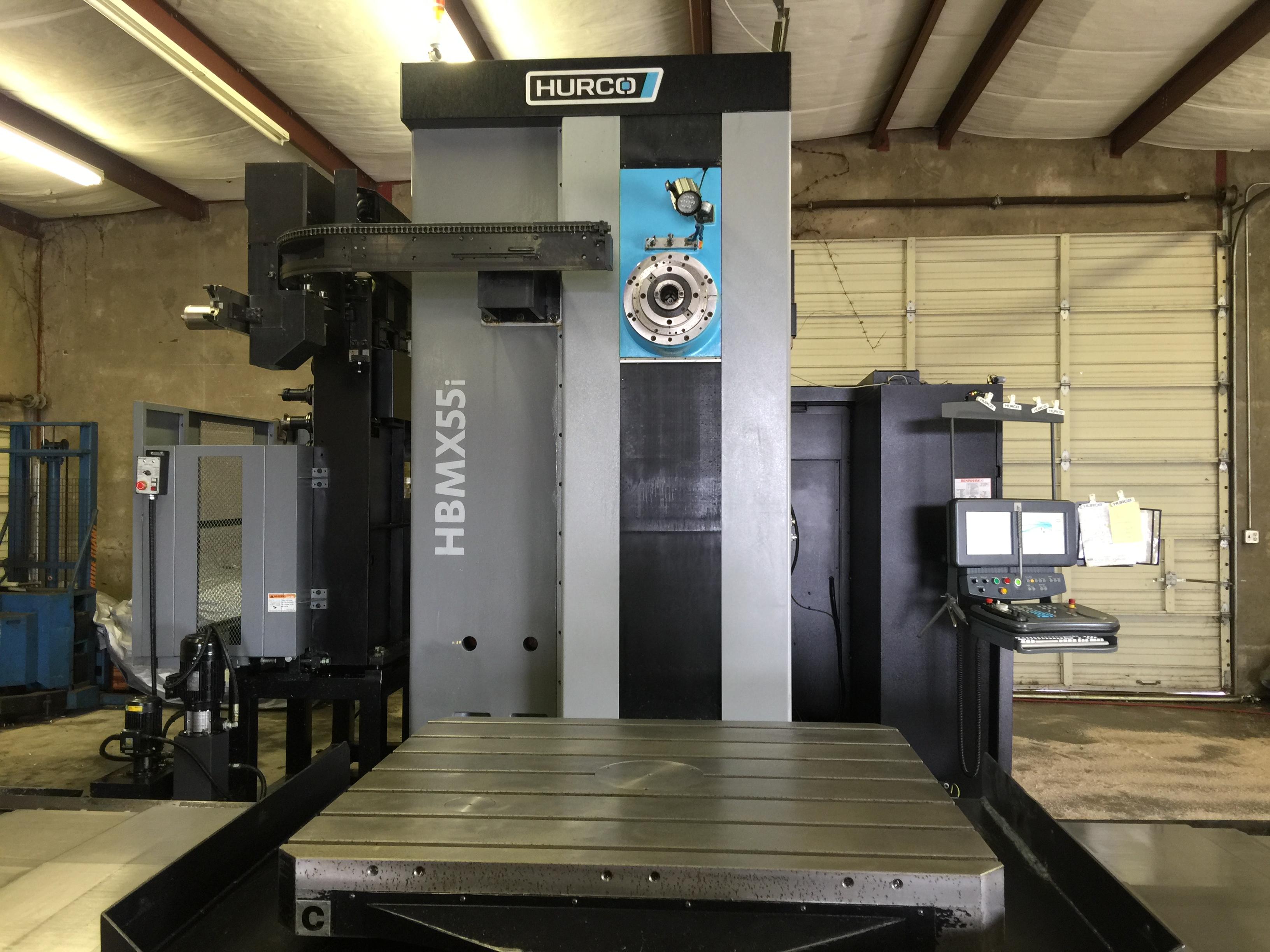 Used Hurco Horizontal Boring Mill HBMX55i For Sale