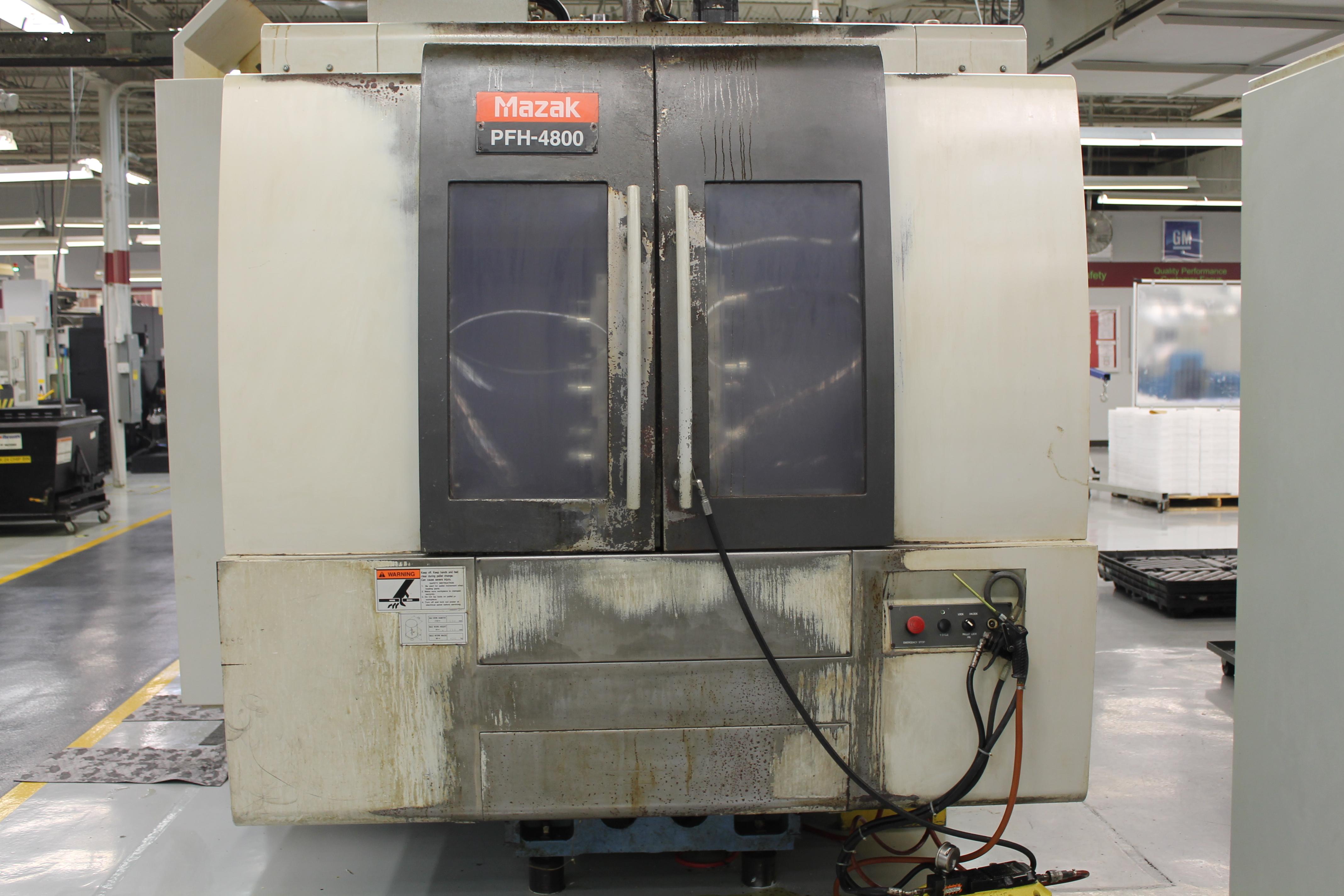Used Mazak Horizontal Machining Center PFH4800 For Sale