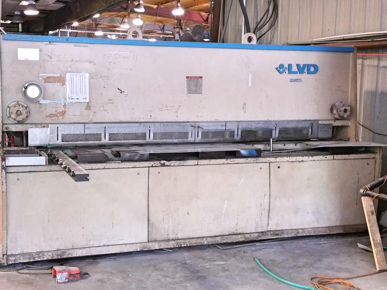 Used Hydraulic Shear  LVD JS 50/10 1994