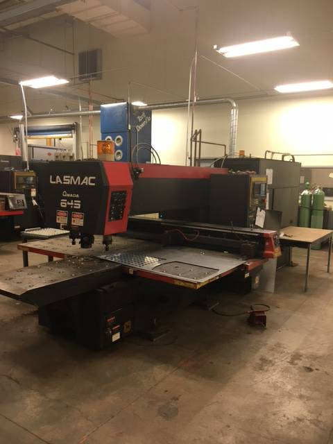 Used Amada Laser Cutting Machine Lasmac Lce 645 For Sale