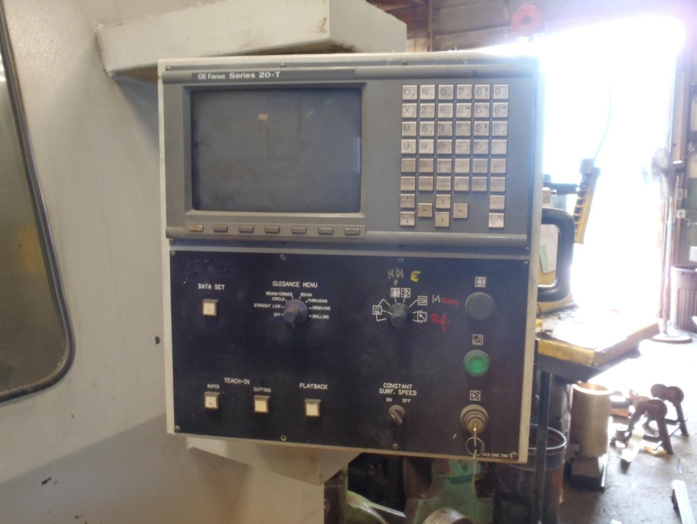 Used CNC Lathe Nardini Logic 500G 1995