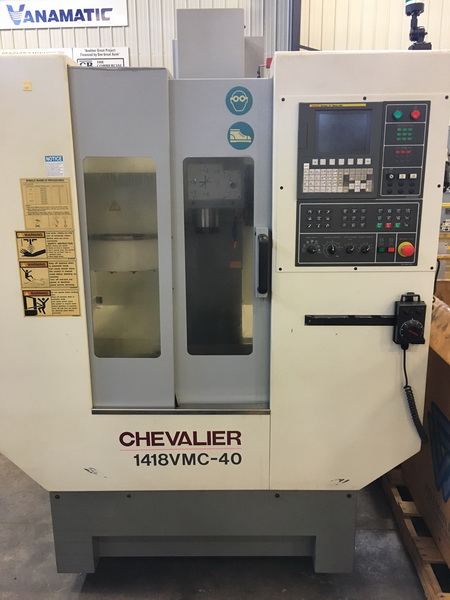 Used Vertical Machining Center For Sale Chevalier Smart Mini Mill 1418VMC 2011 2