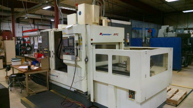 Used Vertical Machining Center Kitamura MyCenter 4Xi 2000