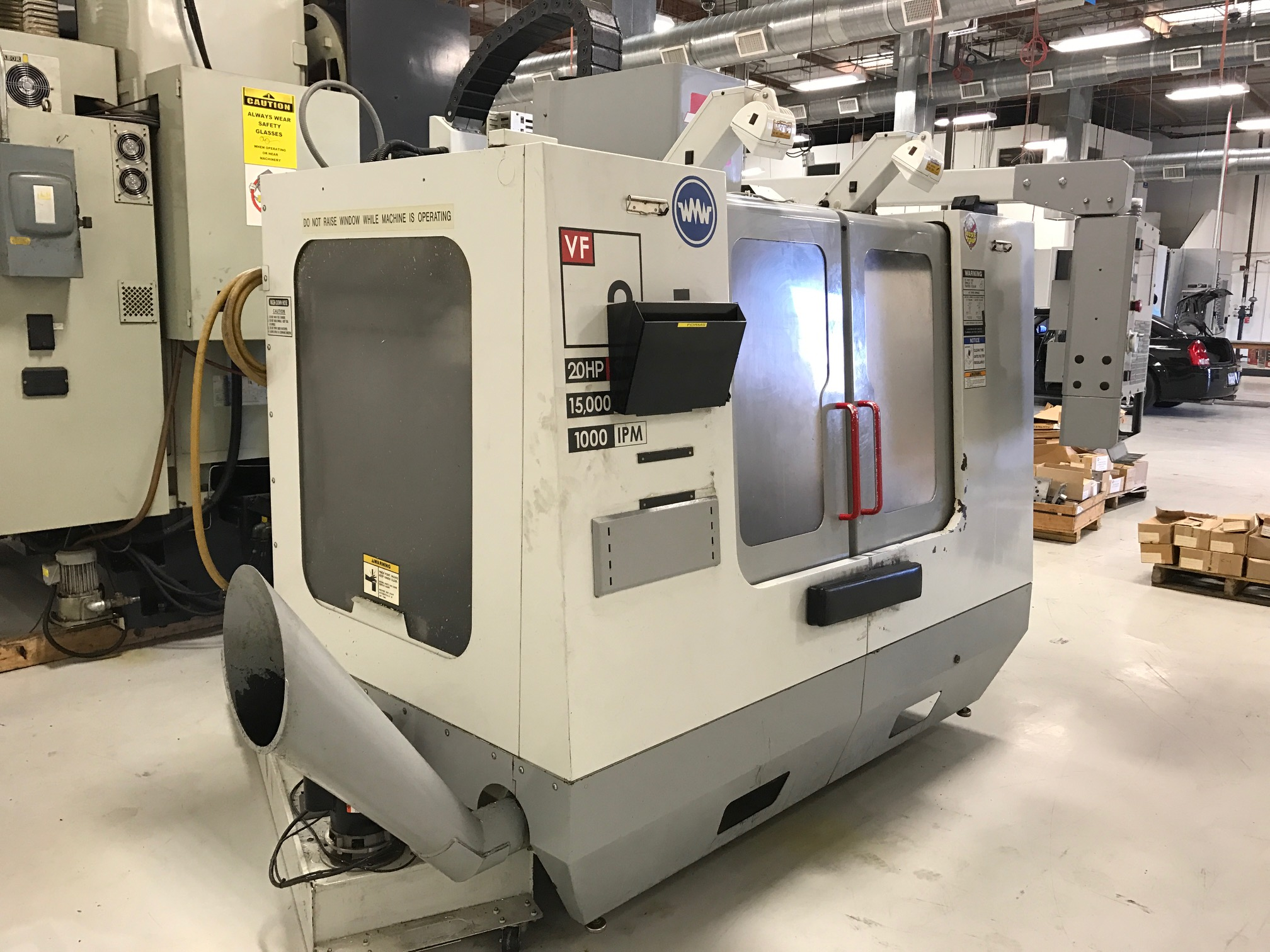 Used Vertical Machining Center Haas VF-2D 2004