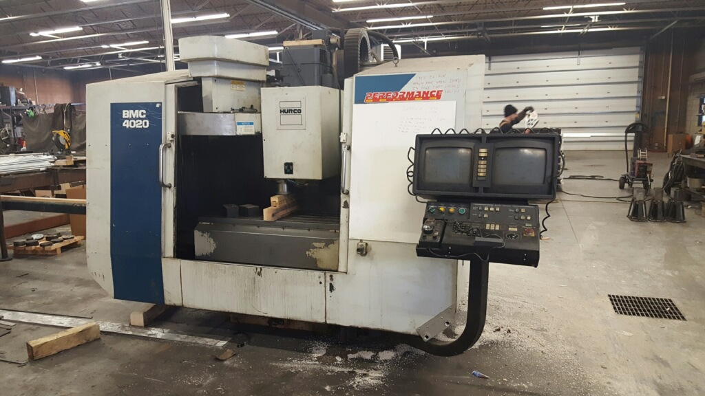 Used Vertical Machining Center Hurco BMC4020 1998