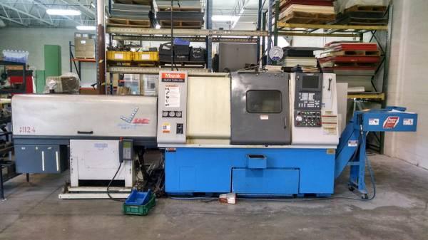 Used CNC Lathe For Sale Mazak QT-250 2000 1