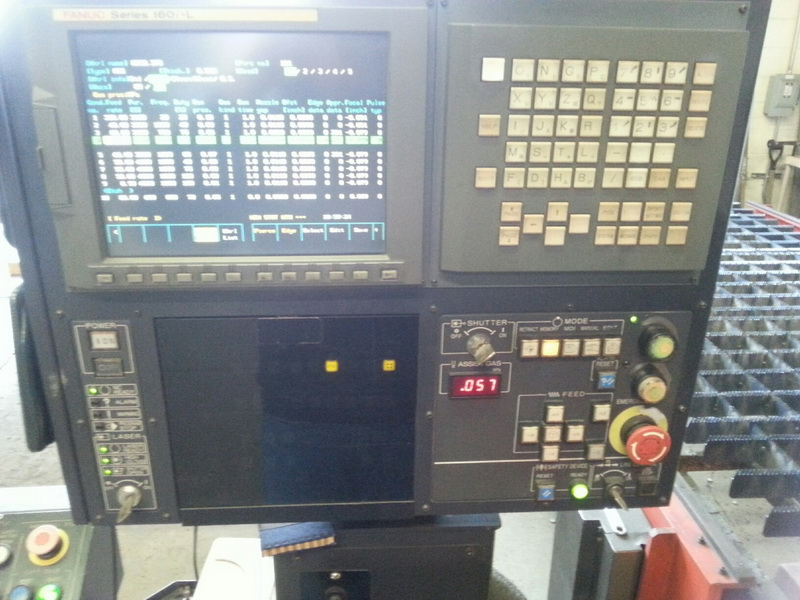 Amada FO-3015 Gemini 2001 8