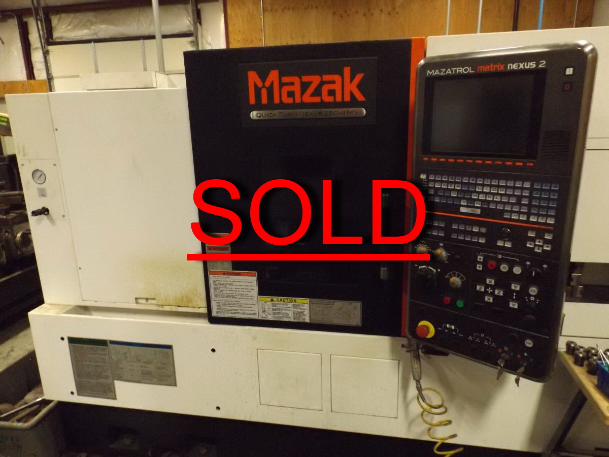 Used Mazak CNC Lathe Nexus QT250II MY For Sale