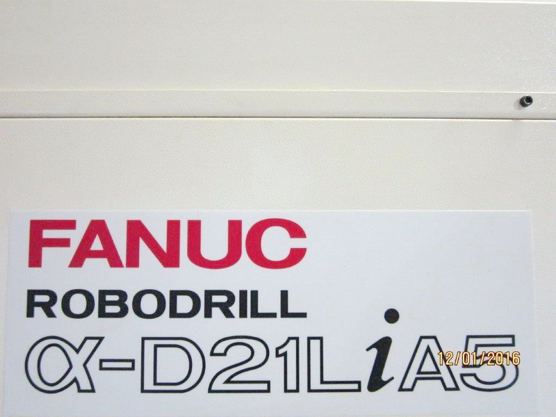 Used Drill and Tap Fanuc Robodrill D21LiA5 2013