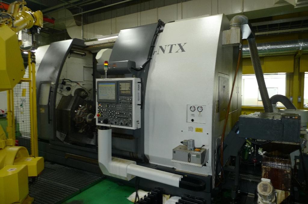Used CNC Lathe Nakamura-Tome Super NTX 2003