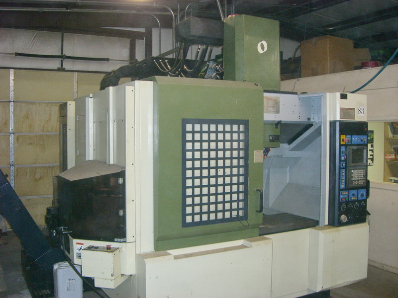 Used Vertical Machining Center Makino V55 1998