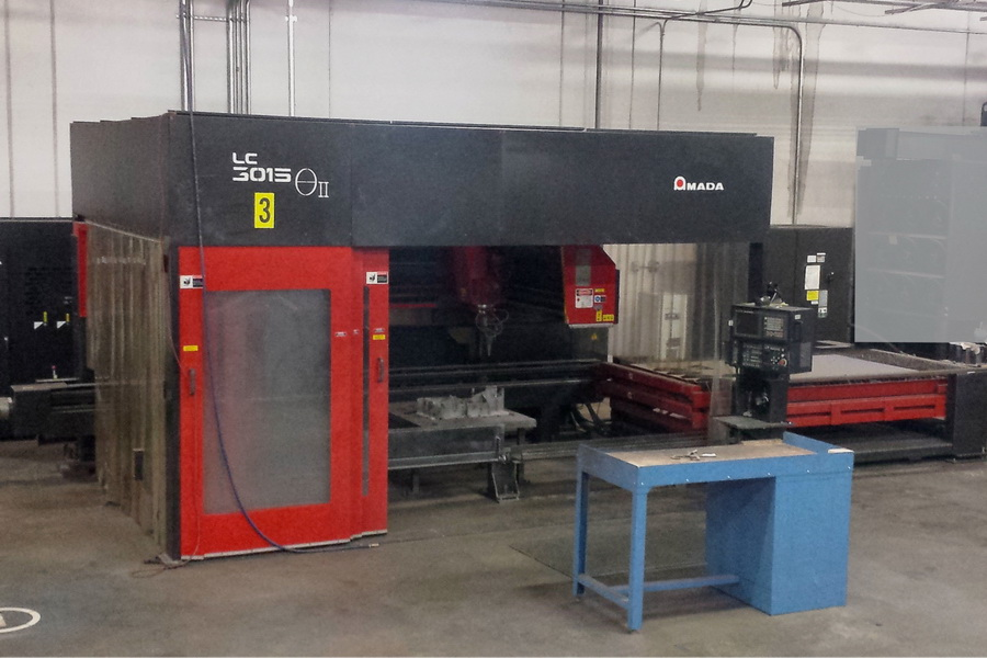 Used Laser Cutting Machine Amada Theta LC-3015C2 2003
