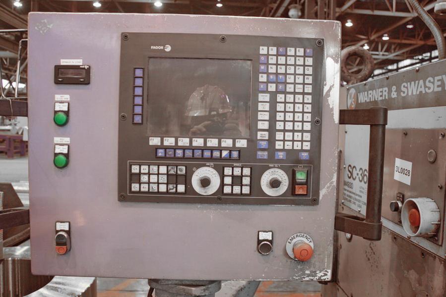 Warner & Swasey SC36 2009 - Full Rebuild 1