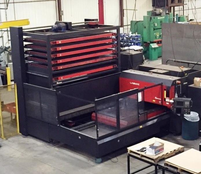 Used Laser Cutting Machine Amada Lasmac LCV-3015 1998