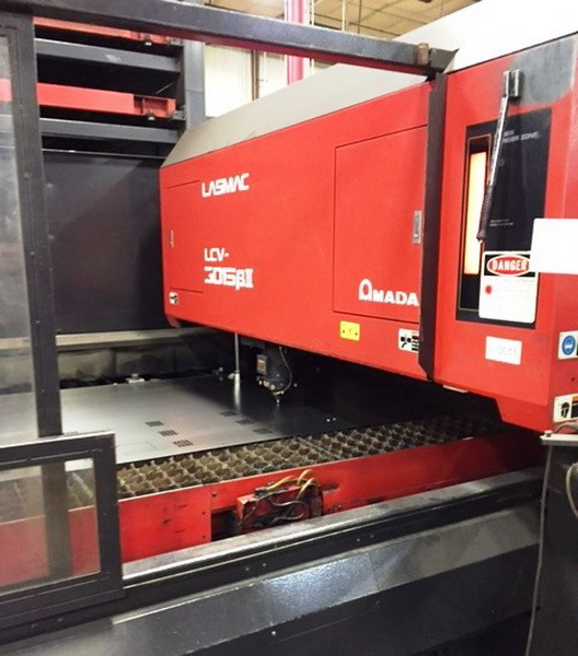 Used Laser Cutting Machine Amada Lasmac LCV-3015 1998