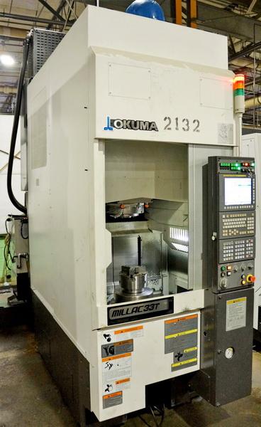 Used CNC Lathe Okuma Millac 33T 2014