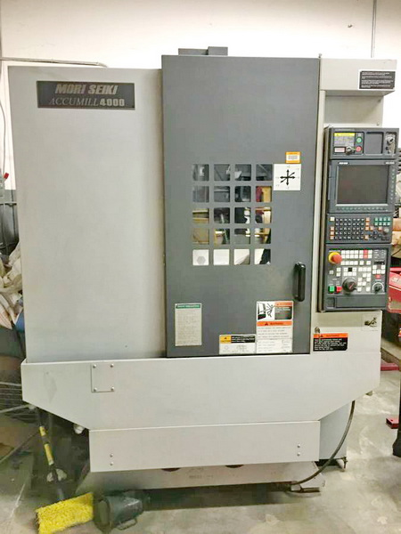 Used Vertical Machining Center For Sale Mori Seiki Accumill 4000 2010 2