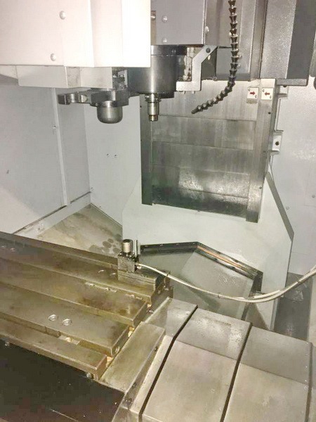 Used Vertical Machining Center Mori Seiki Accumill 4000 2010