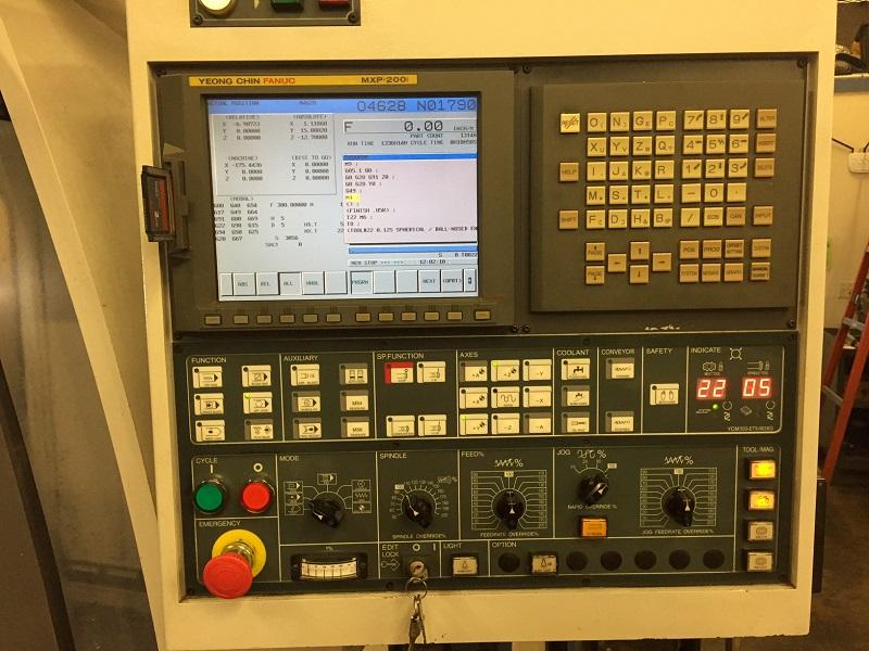 YCM MV-106A 2006 2