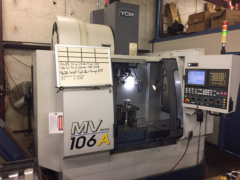 Used Vertical Machining Center YCM MV-106A 2006