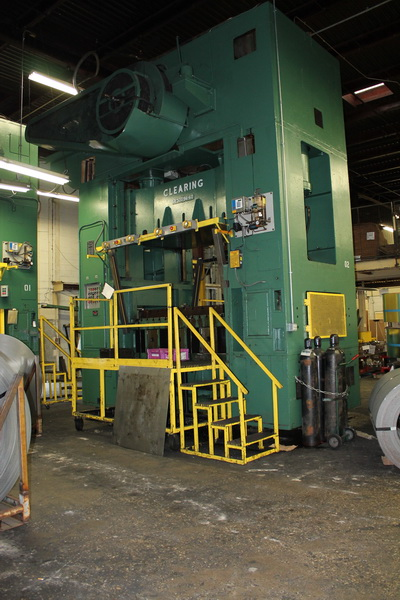 Used Straightside Press  Clearing S4-500-96-60 1962