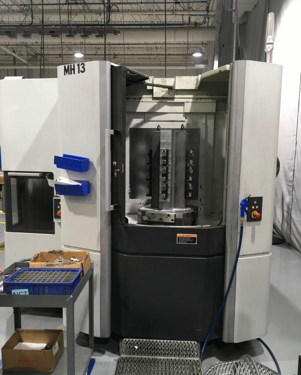 Used Horizontal Machining Center Mori Seiki NHX 5000/40 2012