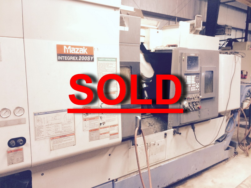 Used Mazak CNC Lathe Integrex 200SY For Sale