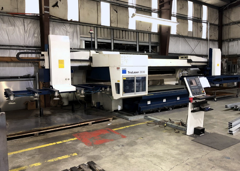 Used Laser Cutting Machine Trumpf TruLaser L2030 2009