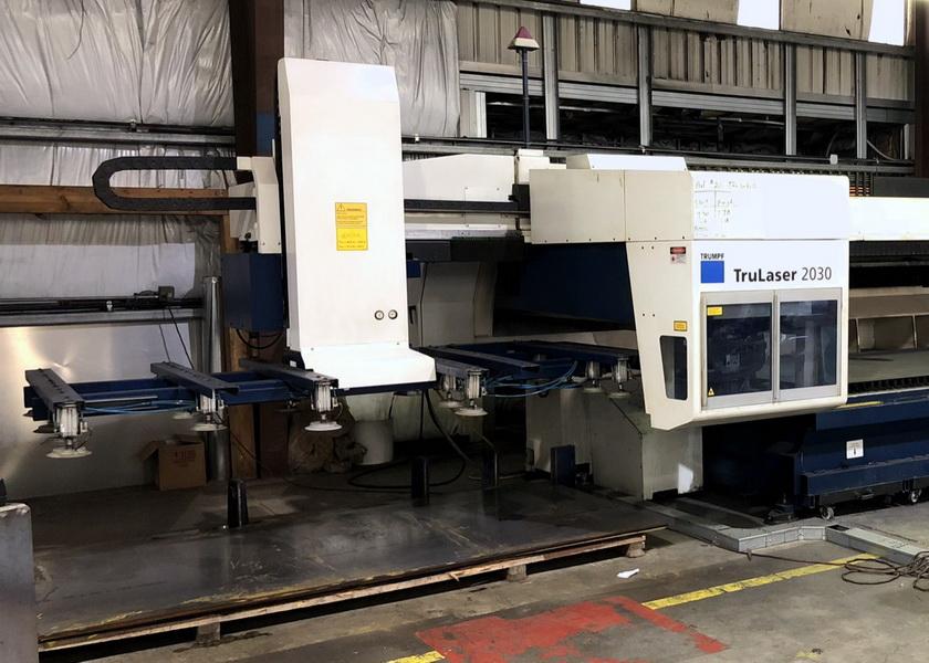 Used Laser Cutting Machine Trumpf TruLaser L2030 2009