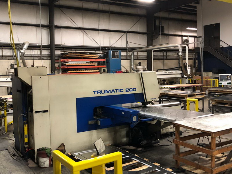 Used Turret Punch Trumpf Trumatic 200R 2000