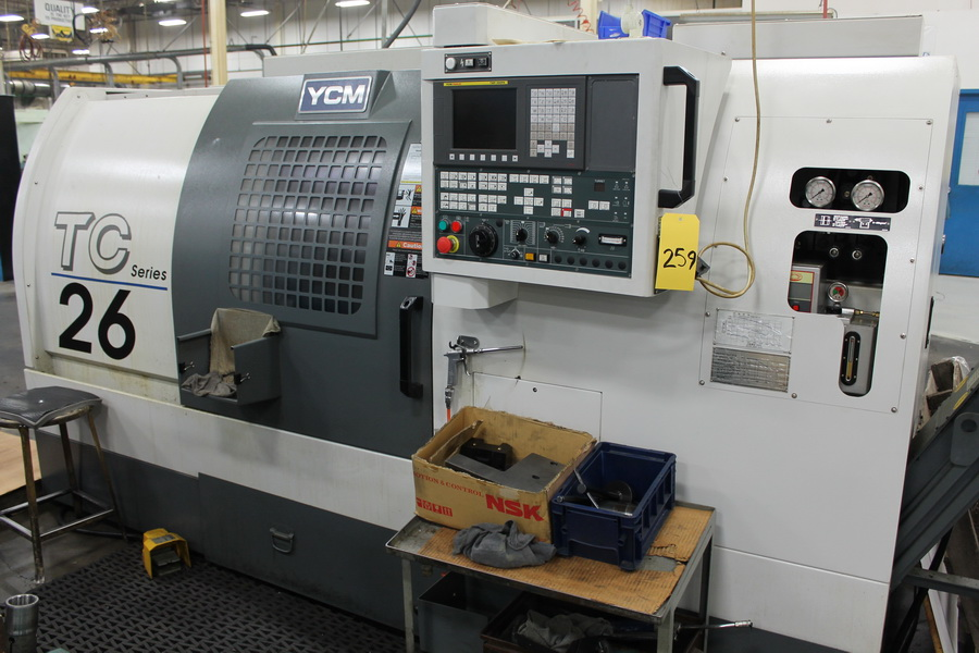 Used CNC Lathe YCM TC-26 2011