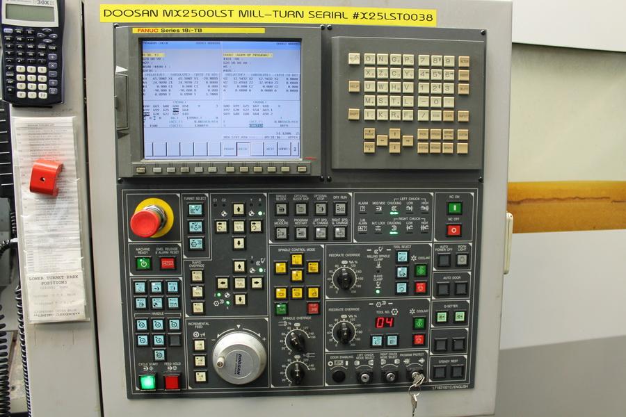 Doosan Puma MX2500 LST 2006 9