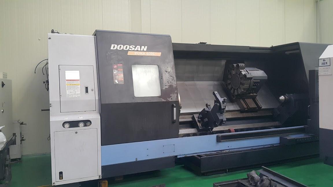 Doosan PUMA 800L 2008 11