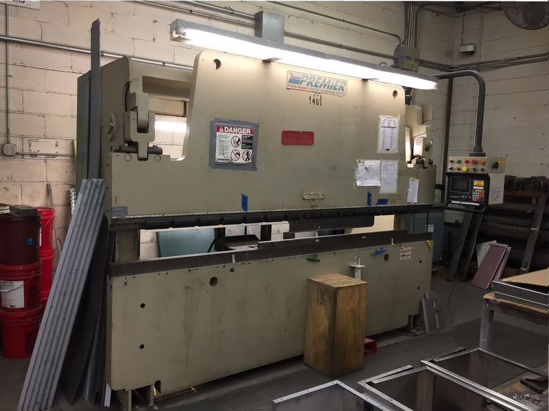 Used Hydraulic Press Brake Premier 10120-R 1999