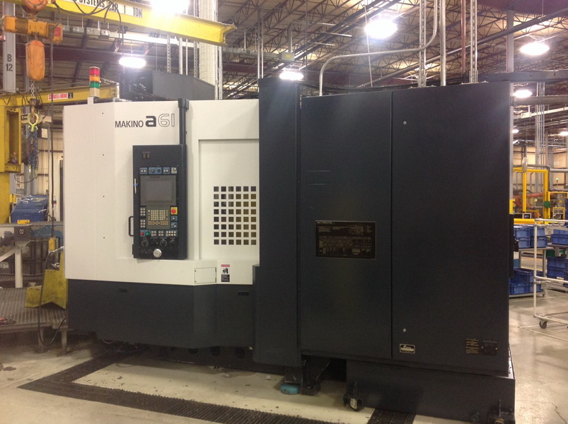Used Horizontal Machining Center Makino A61 2018