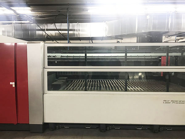 Used Laser Cutting Machine Mitsubishi ML3015eX Plus 45CF-R 2014