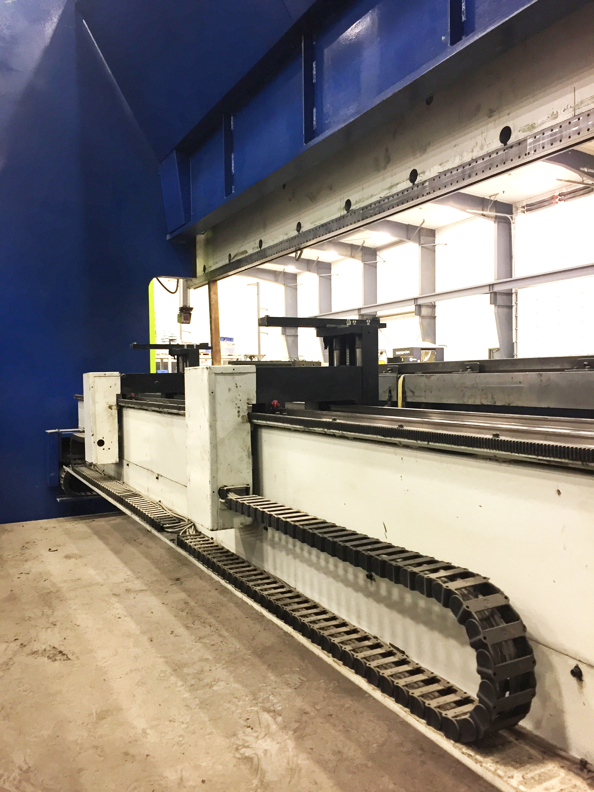 Used Hydraulic Press Brake Darley EHP340 2001