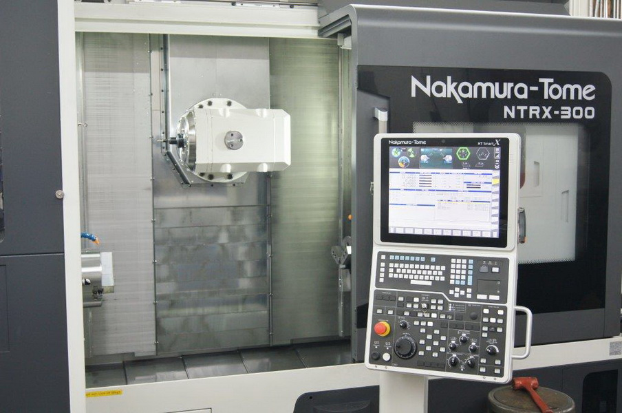 Used 5 Axis Lathe Nakamura-Tome NTRX-300 2016