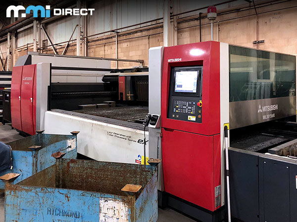 Used Laser Cutting Machine Mitsubishi ML3015eX 35CF-R 2013
