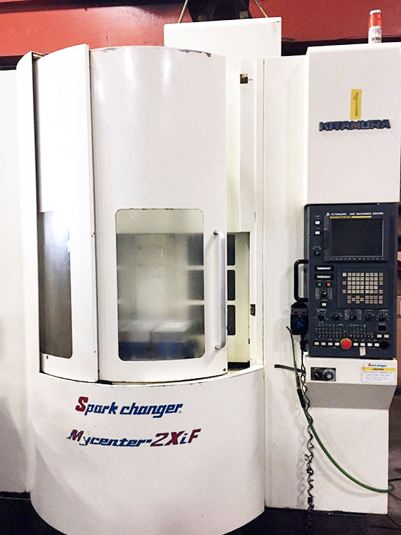 Used Vertical Machining Center Kitamura MyCenter 2XiF 2003
