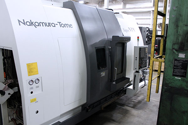 Used 5 Axis Lathe Nakamura-Tome Super NTX 2003