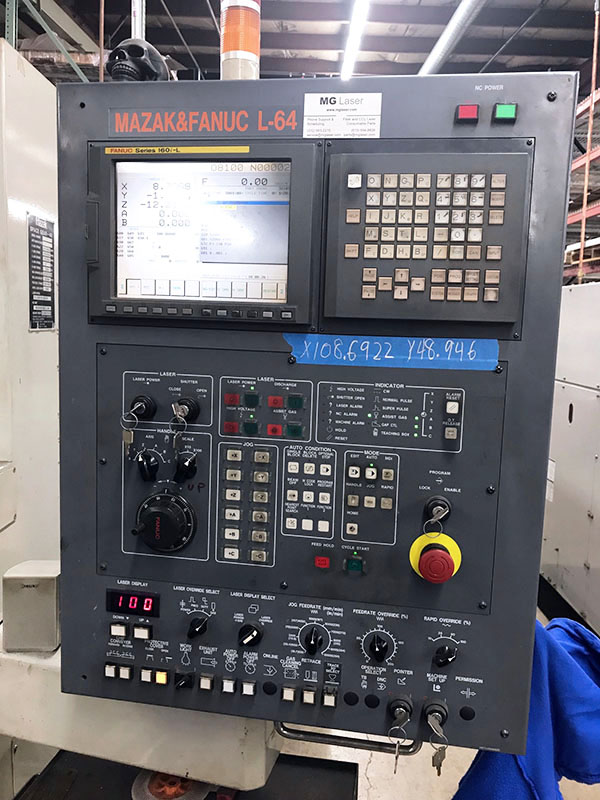Mazak Space Gear 48 2000 2