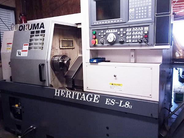 Used CNC Lathe For Sale Okuma Heritage ES-L8 2006 3