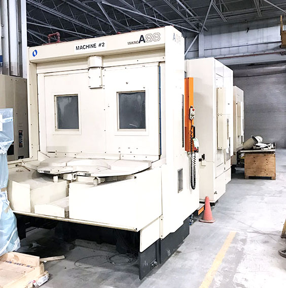 Used Horizontal Machining Center Makino A88 2000