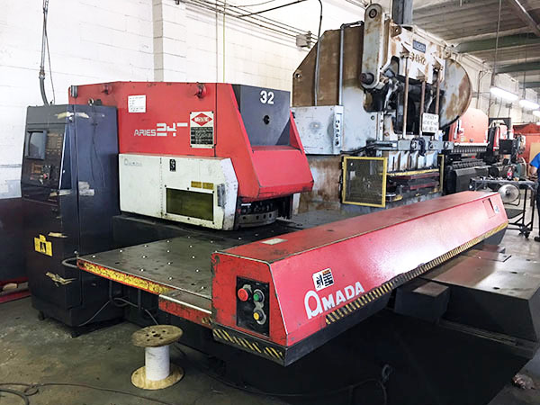 Used Turret Punch Amada Aries-245 1994