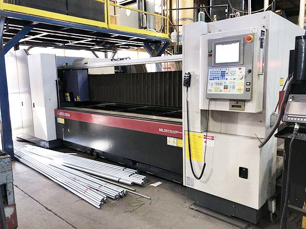 Used Laser Cutting Machine Mitsubishi ML3015LVP(S) 45CF-R 2010