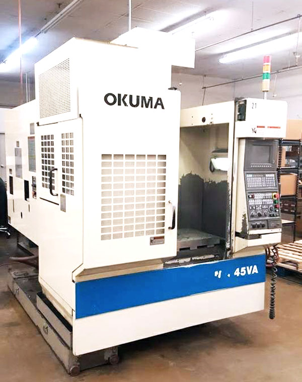 Used Vertical Machining Center Okuma MX-45VA 1996